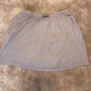 Women within skirt/short bottom